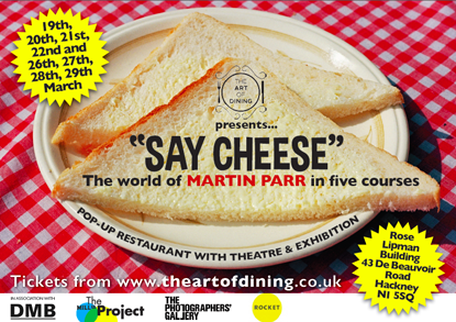 Say Cheese! The World of Martin Parr in five Courses
