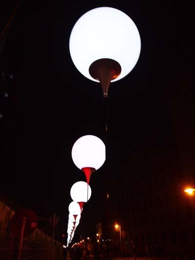 Lichtengrenze, Berlin 7-9th November 2014